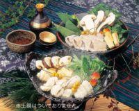 旬秋の宴 松茸鱧鍋 素材セット(2人前) AU-077