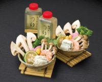 【お徳用】秋酔佳人 松茸土瓶蒸し 素材セット(2人前) DS-040 ※土瓶は付きません