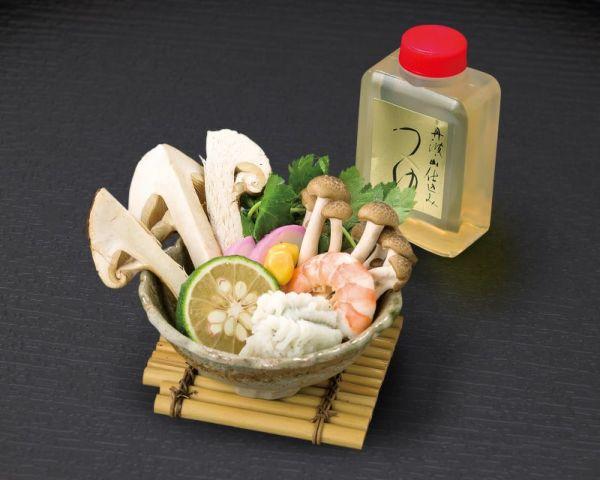 【お徳用】秋酔佳人 松茸土瓶蒸し 素材セット(1人前) DS-020 ※土瓶は付きません
